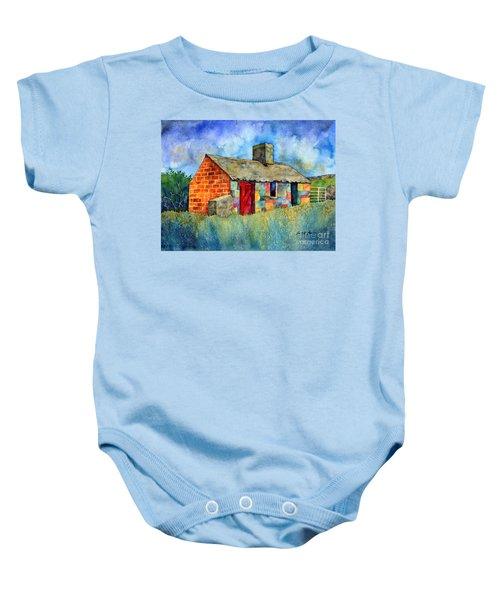 Red Door Cottage Baby Onesie