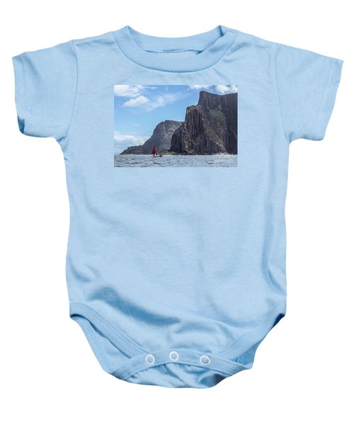 Red Sails Baby Onesie