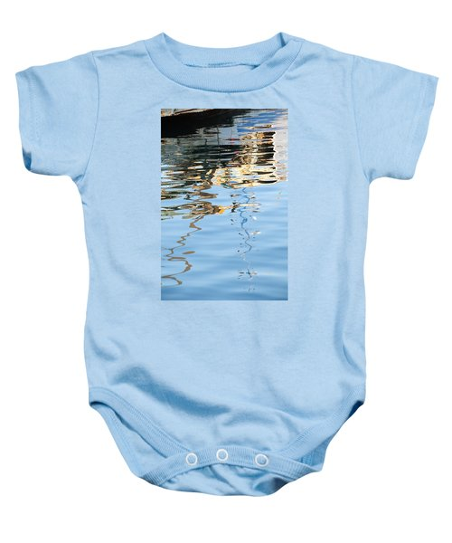Reflections - White Baby Onesie