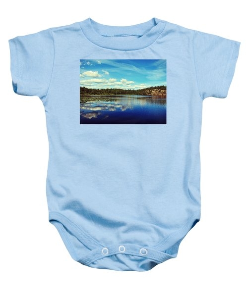 Reflections Of Nature Baby Onesie
