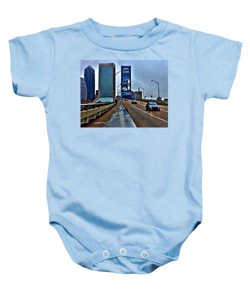 Ride The Rail Baby Onesie