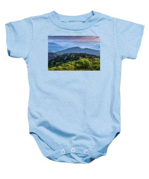 Ridges At Sunset Baby Onesie