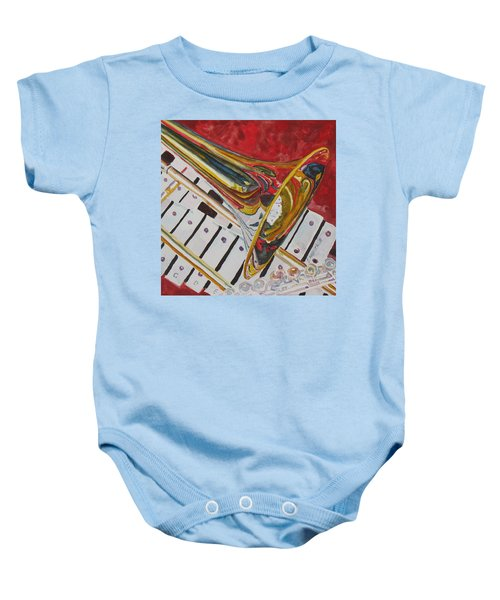 Ringing In The Brass Baby Onesie