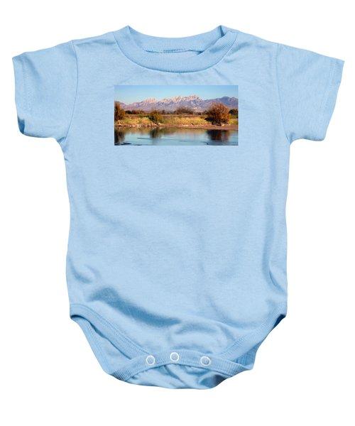 River View Mesilla Panorama Baby Onesie