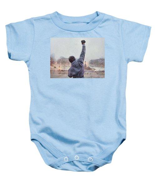 Rocky Balboa Baby Onesie
