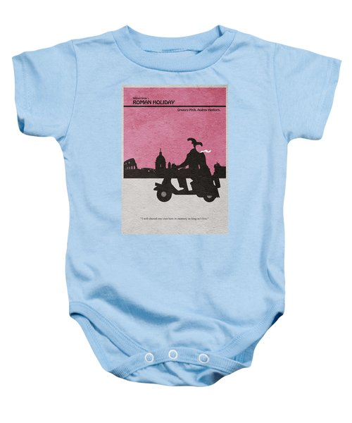 Roman Holiday Baby Onesie by Ayse Deniz