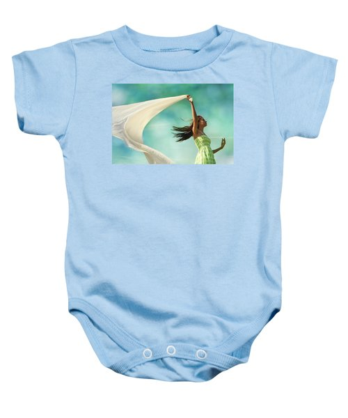 Sailing A Favorable Wind Baby Onesie