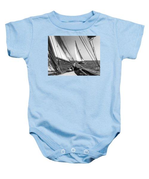 Sailing In Los Angeles Regatta Baby Onesie