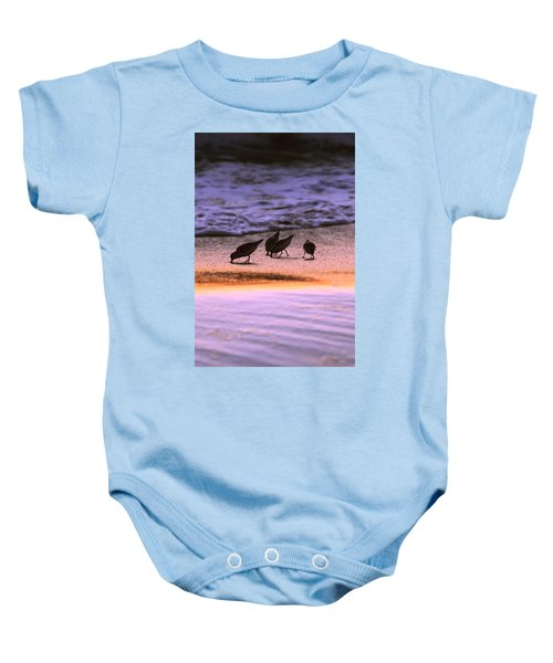Sandpiper Morning Baby Onesie