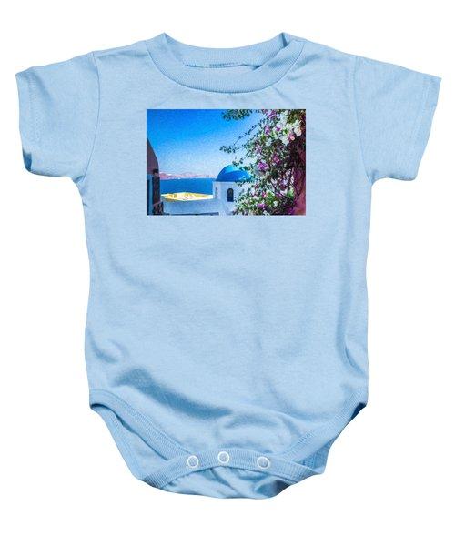 Santorini Grk4166 Baby Onesie