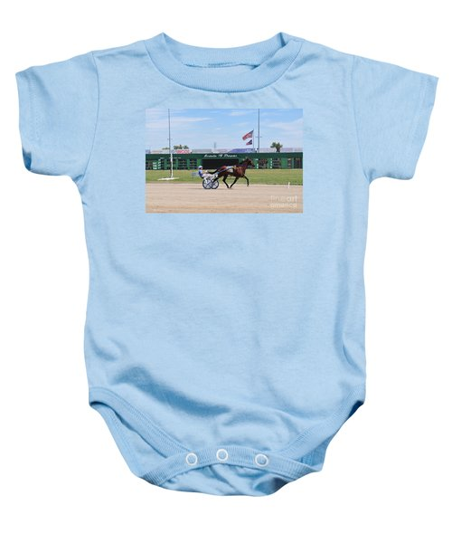 D3w-206 Scioto Downs Photo Baby Onesie