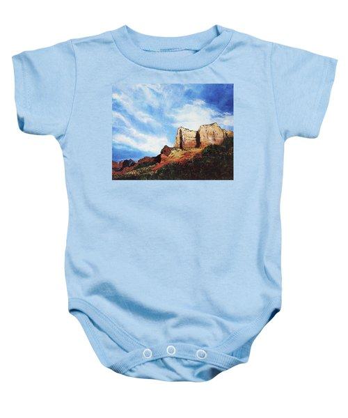 Sedona Mountains Baby Onesie