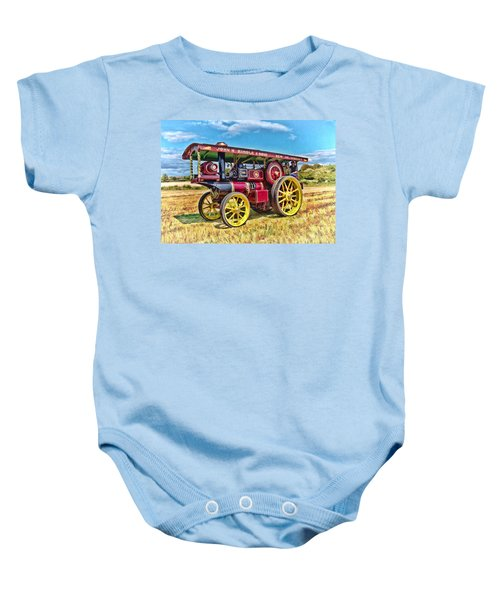 Showmans Engine Baby Onesie