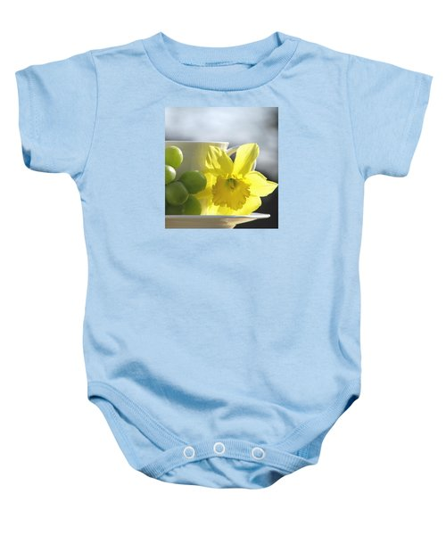 Sipping Spring Baby Onesie
