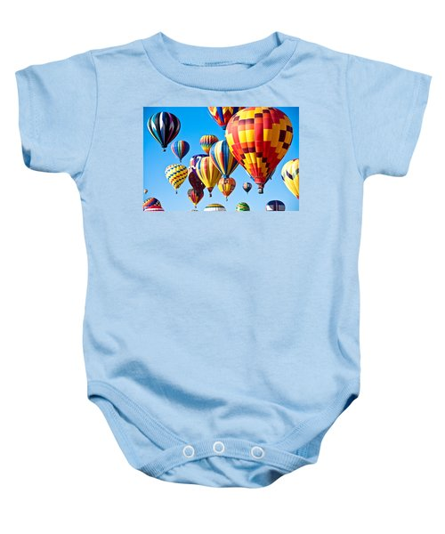 Baby Onesie featuring the photograph Sky Of Color by Shane Kelly