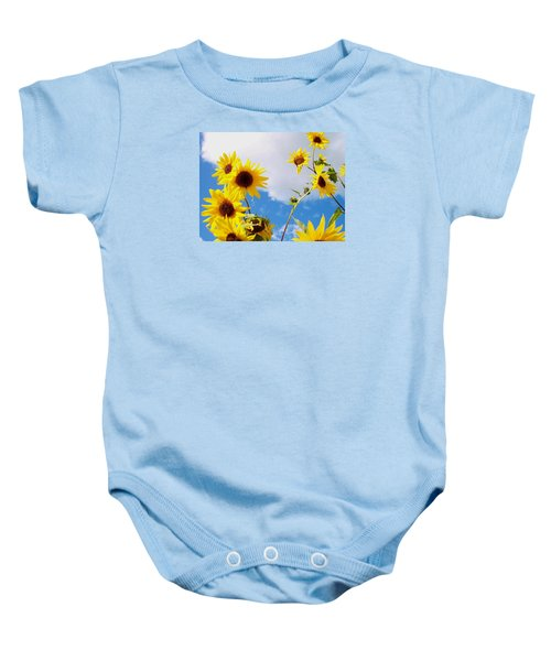 Smile Down On Me Baby Onesie