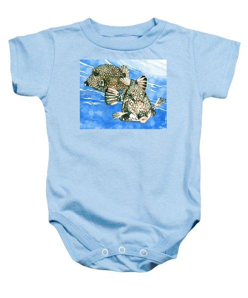 Smooth Trunkfish Pair Baby Onesie