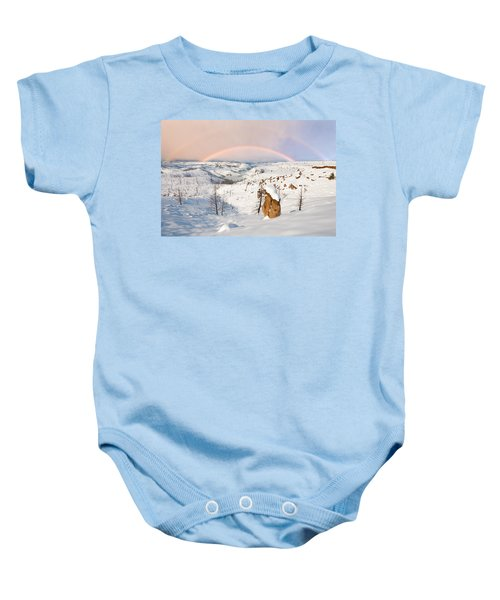 Snow Capped Hoodoo's Baby Onesie