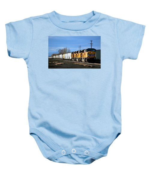 Southern Pacific Loading Up Baby Onesie