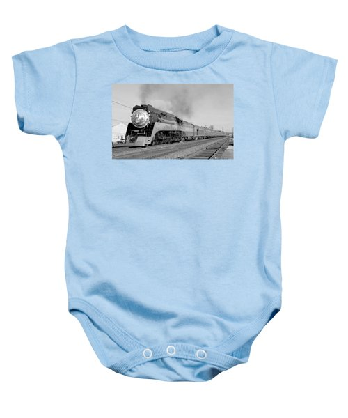 Southern Pacific Train In Texas Baby Onesie