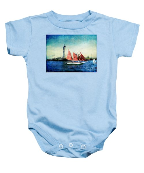 Spirit Of Buffalo Baby Onesie