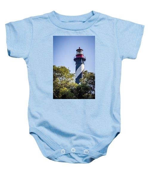 St. Augustine Lighthouse Baby Onesie