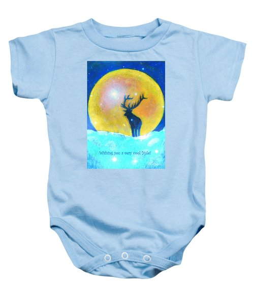 Stag Of Winter Baby Onesie