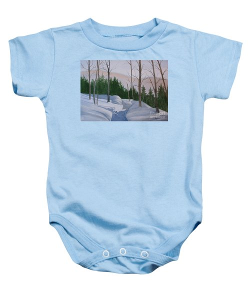 Stay On The Path Baby Onesie