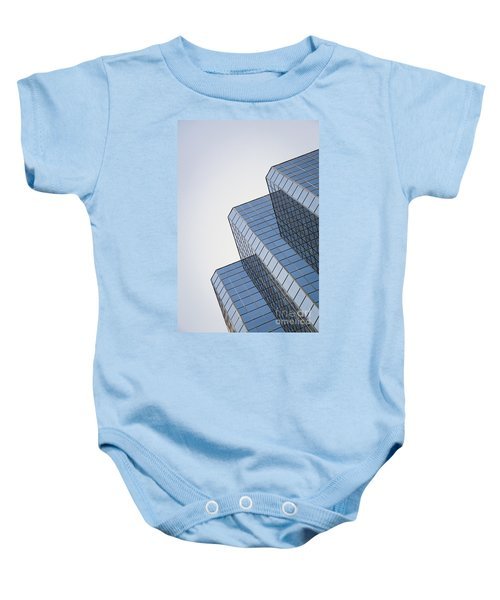 Straight Across My Mind Baby Onesie