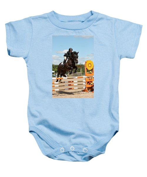 Sunflower Jumper Baby Onesie