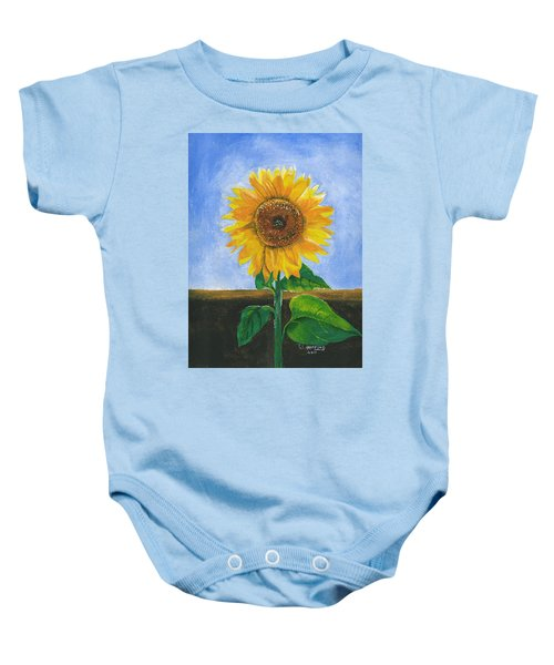 Sunflower Series Two Baby Onesie