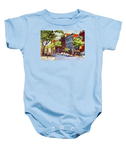 Sunny Day Cafe Baby Onesie