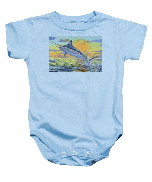 Sunset Blue Off0085 Baby Onesie