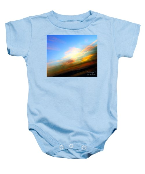 Sunset Reflections - Abstract Baby Onesie