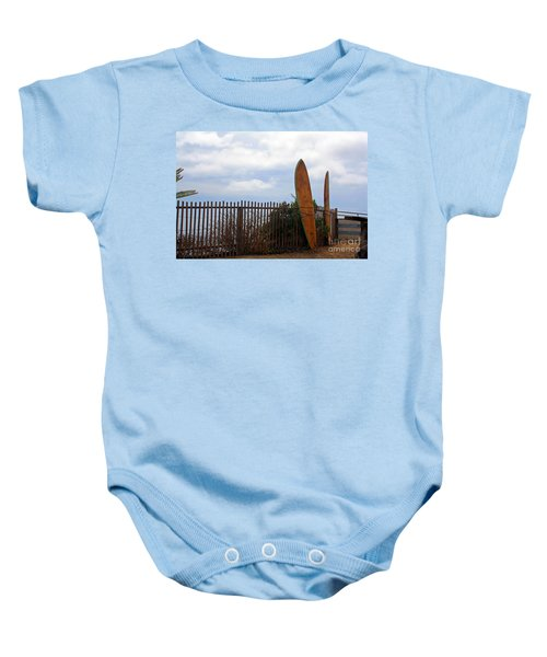Surfs Up Baby Onesie