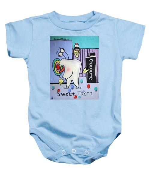 Sweet Tooth Baby Onesie
