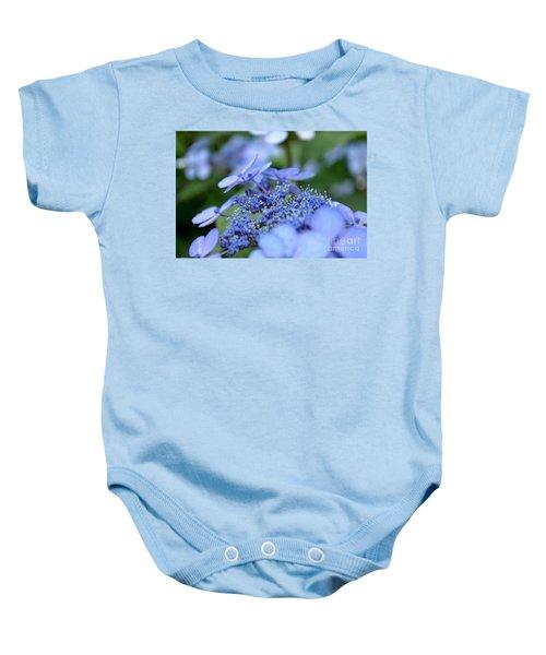 Taube Lacecap Hydrangea Baby Onesie