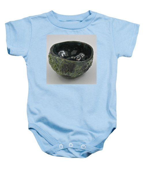 Tea Bowl #5 Baby Onesie