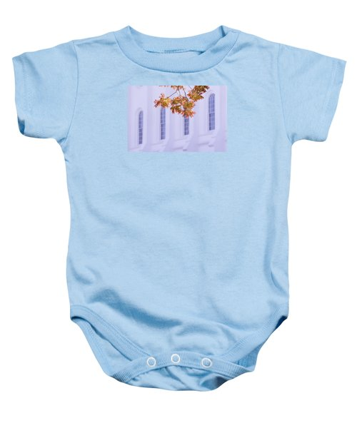 Temple Accent Baby Onesie