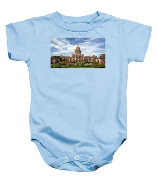 Texas State Capitol II Baby Onesie