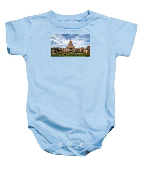 Texas State Capitol II Baby Onesie