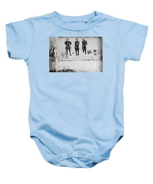 The Trio  Baby Onesie