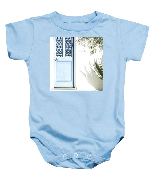 The Blue Door Baby Onesie