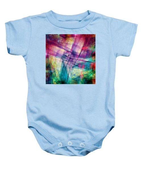 The Building Blocks Baby Onesie