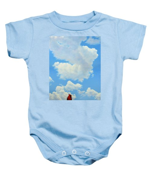 The Cardinal Baby Onesie