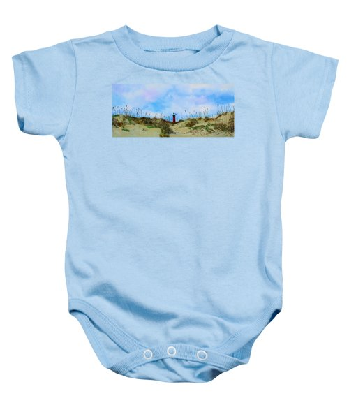 The Center Of Attention Baby Onesie