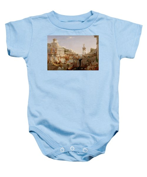 The Course Of Empire Consummation  Baby Onesie