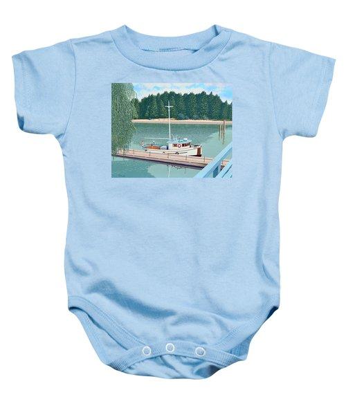 The Converted Fishing Trawler Gulvik Baby Onesie