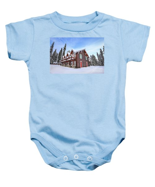 The Glory Of Winter's Chill Baby Onesie