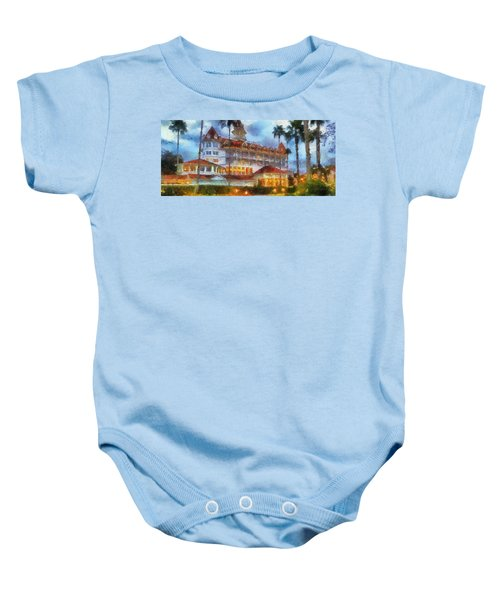 The Grand Floridian Resort Wdw 01 Photo Art Baby Onesie